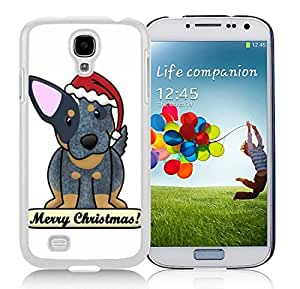 Hot Sell Design Samsung S4 TPU Protective Skin Cover Christmas Dog White Samsung Galaxy S4 i9500 Case 16