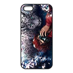 Custom Leopard Back Cover Case for iphone5,5S JN5S-549