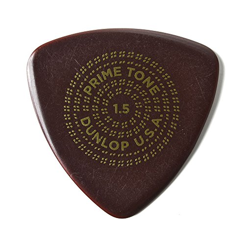 - Jim Dunlop 513R15 Primetone 1.5mm Triangle Sculpted Plectra Guitar Picks, 12-Pack