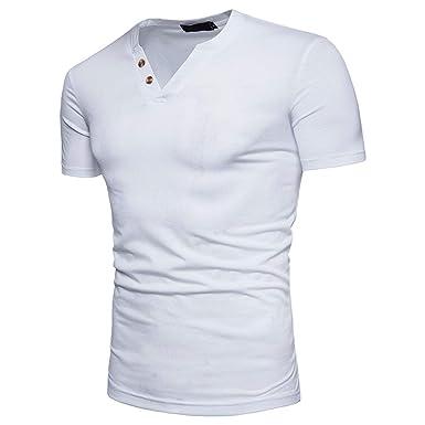 Camiseta de Tirantes Hombre,de Color Puro y Personalidad de ...