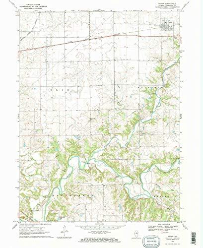 YellowMaps Secor IL topo map, 1:24000 Scale, 7.5 X 7.5 Minute, Historical, 1970, Updated 1972, 26.9 x 22 in - Paper
