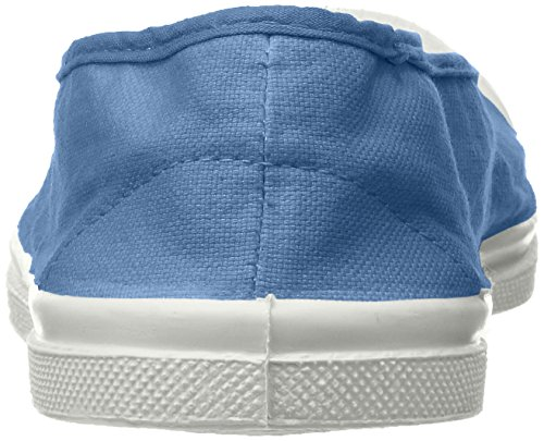 Tennis Ballerine Baskets Bleu Bensimon denim Femme qaRwadU