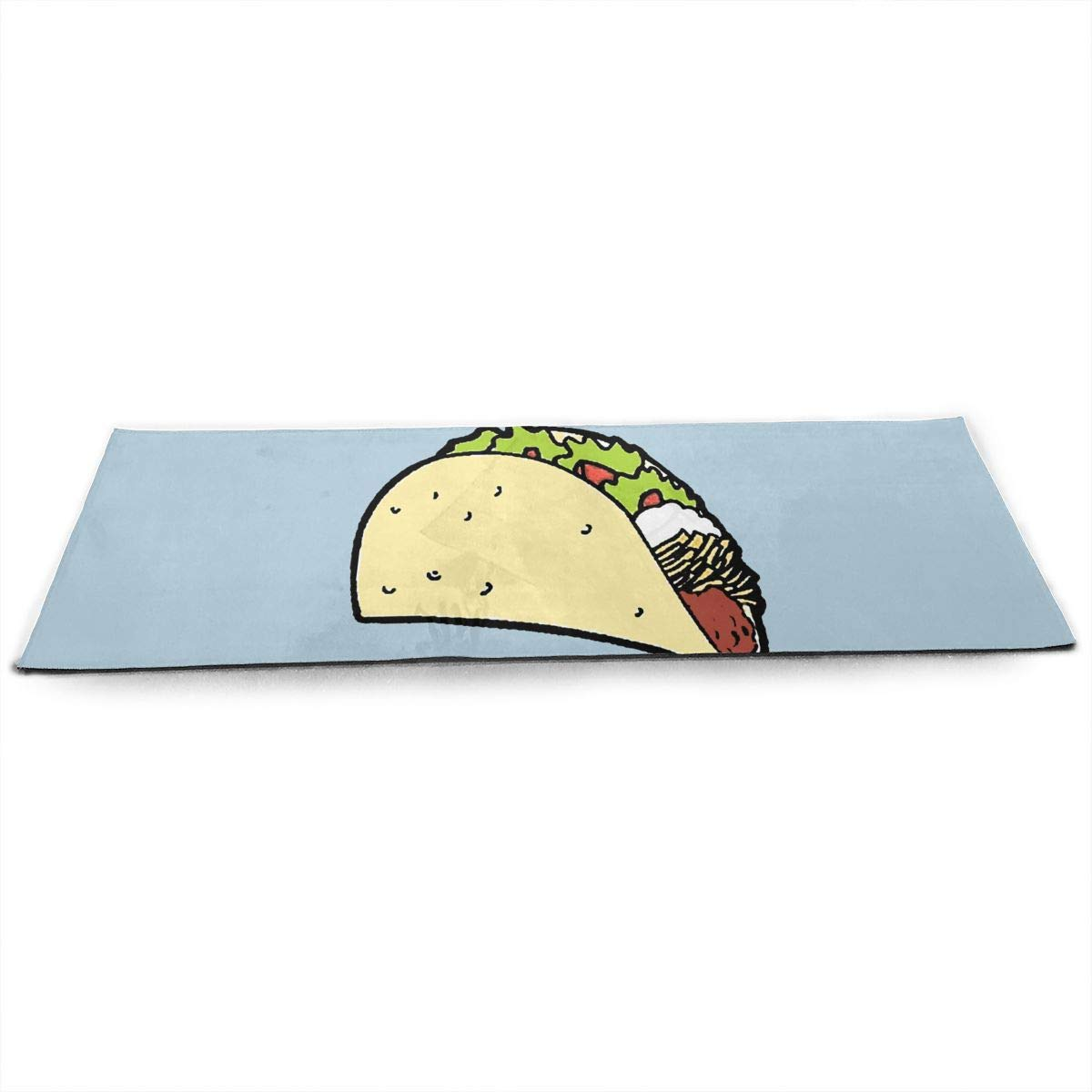 Amazon.com: I Hate Tacos Thick Exercise Yoga Mat Area Rug ...