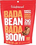Enlightened Bada Bean Bada Boom Plant Protein Gluten Free Roasted Broad (Fava) Bean Snack, Sriracha, 3oz, 6 Count For Sale