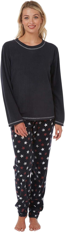 Daisy Dreamer Pyjama Set Womens Designer Fleece Pyjamas Soft Touch Winter PJs Loungewear Nightwear Gift for Ladies
