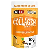 Cheap LonoLife Coconut Pineapple Collagen Peptides with 10g Protein, Stick Packs, 10 Count