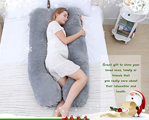 Meiz U Shaped Pregnancy Body Pillow Body Pillows