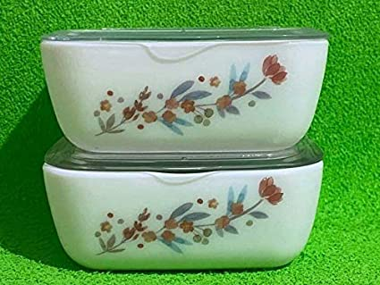 Enamel Coated Mixing Bowl 1L Cooking Storing Salad Catering White Butterflies