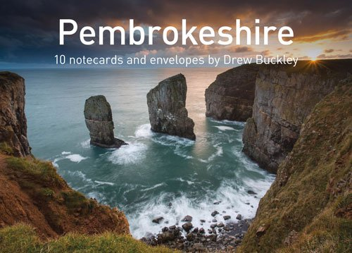 Pembrokeshire by Drew Buckley Notecards: 10 cards and envelopes