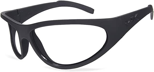 Amazon.com: Wiley X Romer II Gloss Black Nylon Frames