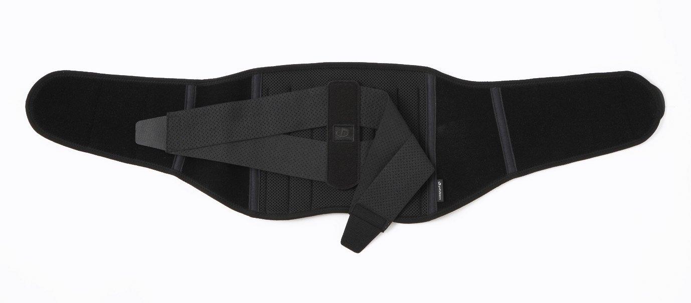Phiten Titanium Lumbar Support, Black, Small