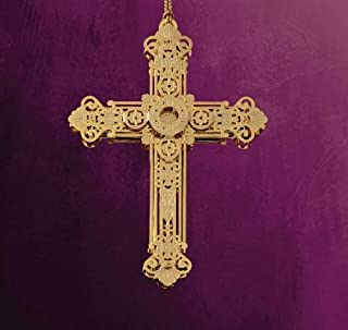 product image for Baldwin Elegent Cross Ornament by ChemArt