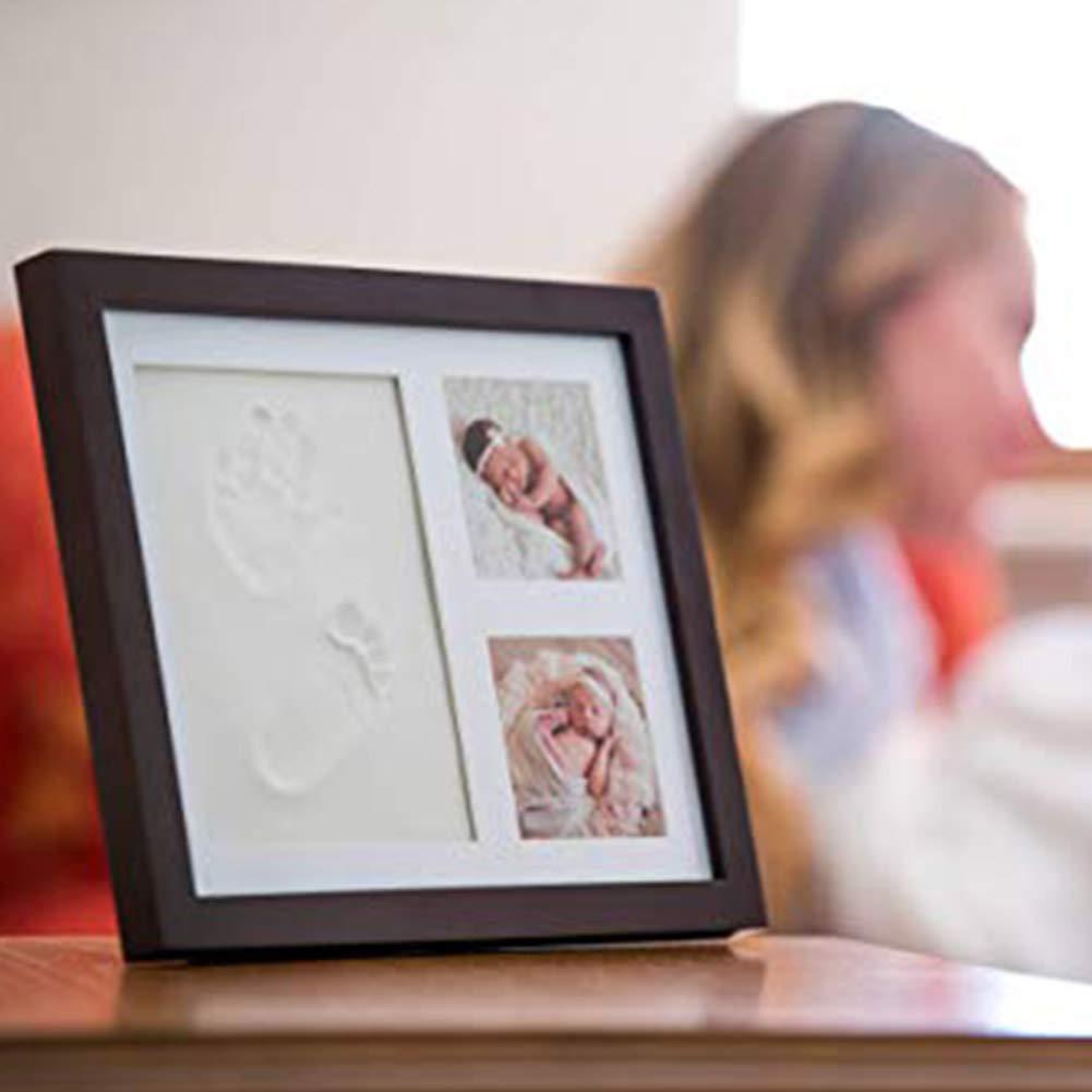 Dekoration f/ür Zuhause Baby Handabdruck-Set Fu/ßabdruck f/ür Neugeborene Abdruck Geschenk f/ür Kleinkinder Kinderzimmer M/ädchen und Jungen Geschenke Babyparty Schlafzimmer
