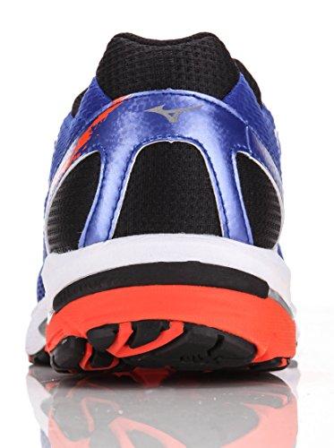 scarpe mizuno running wave leggend 2 azzurro arancio