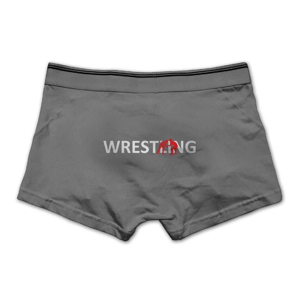 MOCSTONE Men's Underwear Wrestling Player Lover Cotton Boxer Briefs