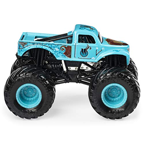 Monster Jam 2019 Danger Divas Series 'W' Whiplash 1:64 Scale Diecast with Figure by Spin Master