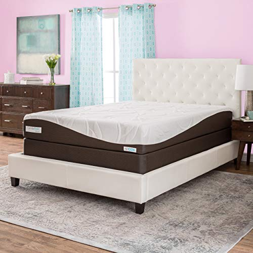 (Simmons Beautyrest ComforPedic from Beautyrest 10-inch Queen-Size Memory Foam Mattress Set)
