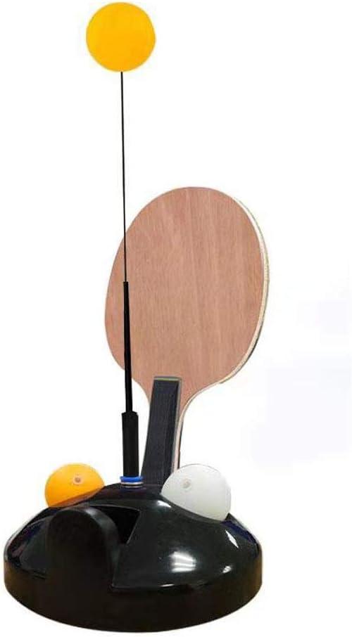 JMFHCD Entrenador de Tenis de Mesa con Eje Blando Elástico, Juego de Equipo de Entrenamiento de Tenis de Mesa, para Niños Adulto Ping Pong Principiantes Juego al Aire Libre en Interiores