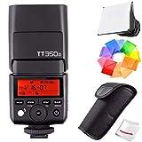 Godox TT350S 2.4G TTL Speedlite Flash for Sony Mirrorless Cameras - GN36 HSS(Max.1/8000s)