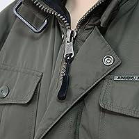 Tiradores de cremallera viajar y chaquetas/ tiendas de campa/ña Trolley Casos /negro Wisdompro 12/Pack Tiradores de cremallera para mochilas casos