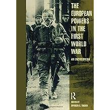 European Powers in the First World War: An Encyclopedia