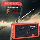 Tiemahun NOAA Weather Alert Radio Solar Emergency