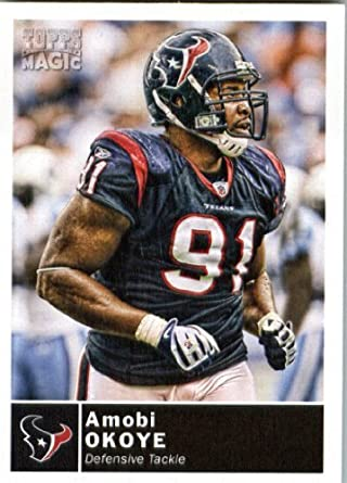 2010 Topps Magic  168 Amobi Okoye - Houston Texans - Football Card in  Screwdown Case 8af657c58