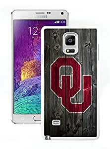 For Samsung Note 4,NCAA Big 12 Conference Big12 Football Oklahoma Sooners 6 White Samsung Note 4 Case Online
