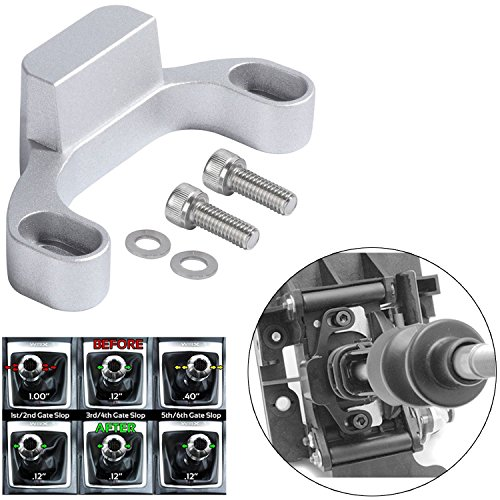 Linkage Parts Service (Opall Manual Shifter Stop Shift Linkage Bushing Gap Removal For Subaru 2015+ WRX/10-14 Legacy/Outback/14+ Forester - Shift Stop Removes Loose and Sloppy Shift Gate Feel in Minutes! (SILVER))