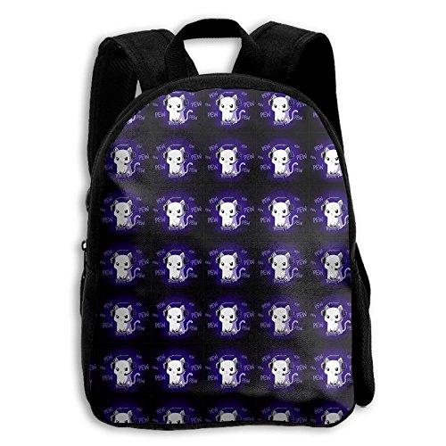 Cat Kid Boys Girls Toddler Pre School Backpack Bags Lightweight