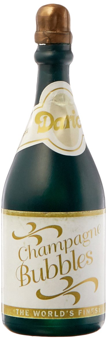 Darice Champagne Bottle Wedding Bubbles 24 Pack Pack of 24