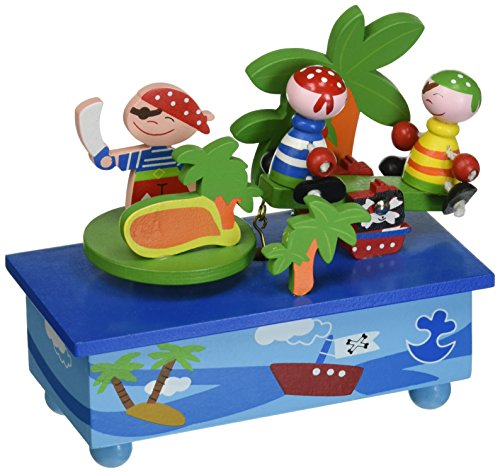 (Musicbox Kingdom Rocking Pirates Decorative Box)