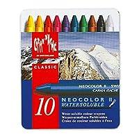 Caran d'Ache Classic Neocolor II pasteles solubles en agua, 10 colores
