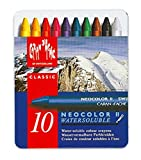 : Caran d'Ache Classic Neocolor II Water-Soluble Pastels, 10 Colors