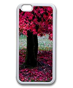 Custom Case with Nature DIY Back Snap On Case for iPhone 6 4.7 TPU Black