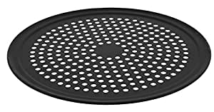 LloydPans Kitchenware 16 inch Perforated Pizza Tray