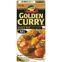 S&B Hot Golden Curry Sauce Mix, 92 g