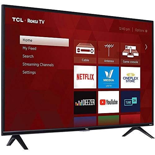 "TCL 43"" Class (43.0"" Diag.) 1080p Roku LED LCD TV 43S303"