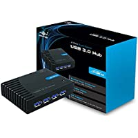 Vantec 4 Port SuperSpeed USB 3.0 Hub (Black)