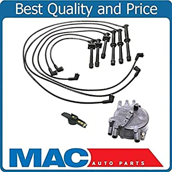 mazda 626 distributor wiring diagram amazon com ignition spark plug wires distributor cap   rotor fits  amazon com ignition spark plug wires