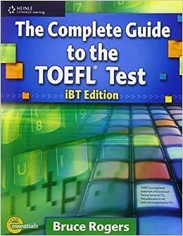 Resultado de imagem para the complete guide to the toefl test ibt