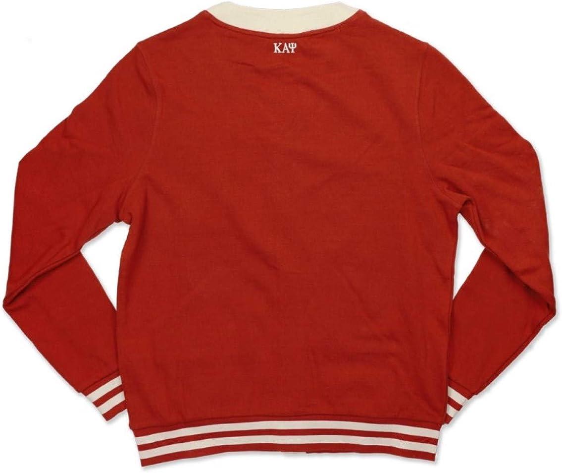Kappa Alpha Psi Mens Lightweight Cardigan Crimson