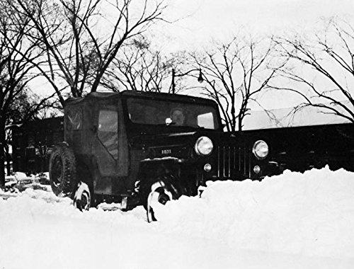 Jeep Snow Plow >> Amazon Com 1958 Jeep Snow Plow Factory Photo Entertainment