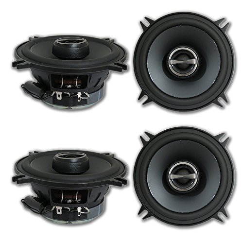 "4 x Alpine SPS-510 5.25"" 2-way Car Audio coaxial speakers"