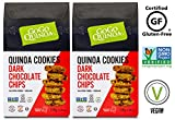 GoGo Quinoa Gluten-Free, Vegan, Chocolate Chip Quinoa cookies, Individually Wrapped 2 X 7 ounces (24 Cookies)