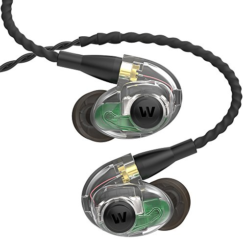 - Westone AM Pro 30 Triple-Driver Universal-Fit In-Ear Musicians' Monitors with SLED Technology and Removable Twisted MMCX Audio Cable