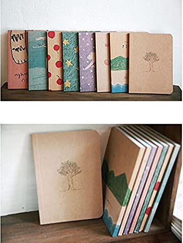 1x Mini Cute Journal Diary Pocket Planner Notebook Memo Lovely Stationery Gift (Notebook Mini Lapto)