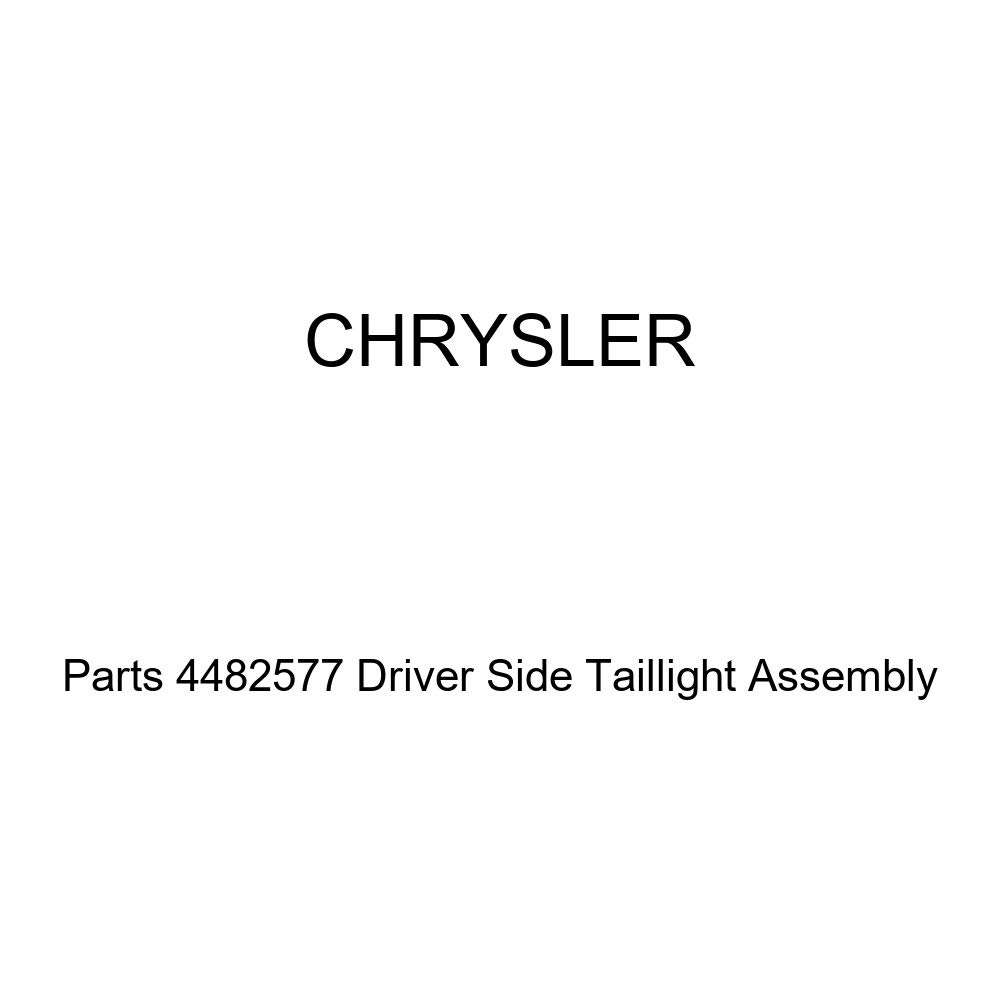 Genuine Chrysler Parts 4482577 Driver Side Taillight Assembly