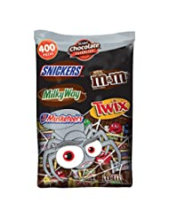MARS Chocolate Halloween Candy Variety Mix 126.3-Ounce 400-Pi...