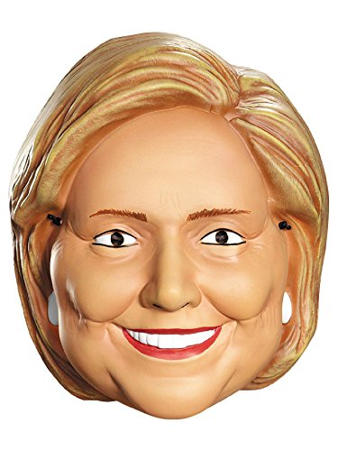 Disguise Costumes Hillary Clinton Vacuform 1/2 Mask, Adult